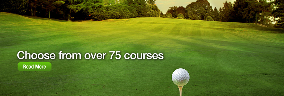 Choose from over 75 courses